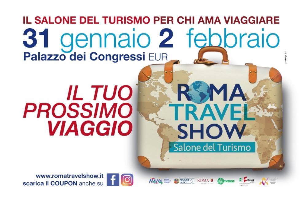 ACT, Accademia Creativa Turismo partecipa al Roma Travel Show dal 31 gennaio al 2 febbraio al Palazzo dei Congressi.